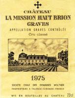 2007 Chateau La Mission Haut Brion La Chapelle De La Mission