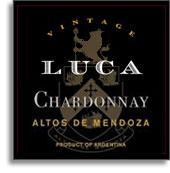 2008 Luca Chardonnay Uco Valley Mendoza