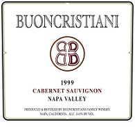 2007 Buoncristiani Cabernet Sauvignon Napa Valley