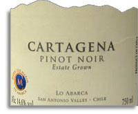 2010 Vina Casa Marin Pinot Noir Lo Abarca Hills Vineyard San Antionio Valley
