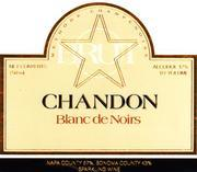 NV Domaine Chandon Blanc De Noirs Carneros