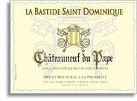 2007 La Bastide Saint Dominique Chateauneuf-du-Pape