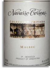2009 Navarro Correas Malbec Coleccion Privada Mendoza
