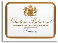 2013 Chateau Suduiraut Sauternes