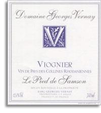 2011 Domaine Georges Vernay Viognier Le Pied De Samson Vin De Pays Des Collines Rhodaniennes