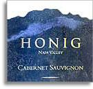 2007 Honig Vineyard & Winery Cabernet Sauvignon Napa Valley