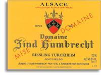 2010 Domaine Zind Humbrecht Riesling Turckheim