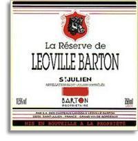 2005 Chateau Leoville Barton Reserve du Leoville Barton Saint-Julien