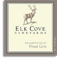 Vv Elk Cove Vineyards Pinot Gris Willamette Valley