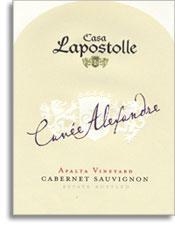 2012 Casa Lapostolle Cabernet Sauvignon Cuvee Alexandre Apalta Vineyard Colchagua Valley