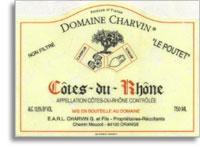 2009 Domaine Charvin Cotes Du Rhone Le Poutet