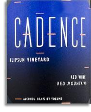 2005 Cadence Winery Red Wine Klipsun Vineyard Red Mountain