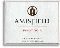 2008 Amisfield Wine Company Pinot Noir Central Otago