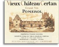 2010 Vieux Chateau Certan Pomerol