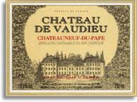 2009 Chateau De Vaudieu Chateauneuf Du Pape