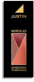2011 Justin Vineyards Isosceles Paso Robles