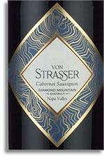 2006 Von Strasser Winery Cabernet Sauvignon Diamond Mountain District