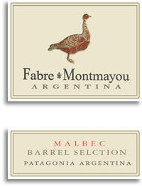 2012 Fabre Montmayou Malbec Barrel Selection Patagonia