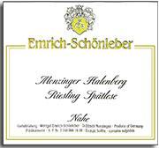 2010 Emrich Schonleber Monzinger Halenberg Riesling Spatlese