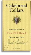 2005 Cakebread Cellars Cabernet Sauvignon Vine Hill Ranch Oakville