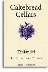 2010 Cakebread Cellars Zinfandel Red Hills Lake County