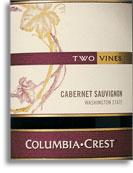 2009 Columbia Crest Winery Cabernet Sauvignon Two Vines Columbia Valley