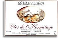 2001 Chateau de Segries Cotes du Rhone Clos de l'Hermitage
