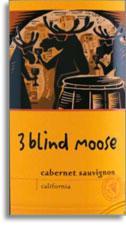 Vv 3 Blind Moose Cellars Cabernet Sauvignon California