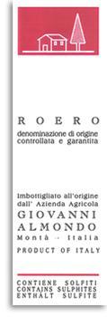 2011 Giovanni Almondo Roero