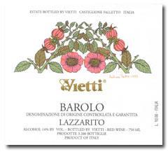2010 Vietti Barolo Lazzarito