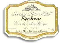2007 Domaine Beau Mistral Rasteau St Martin
