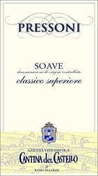 2011 Cantina Del Castello Soave Classico Monte Pressoni