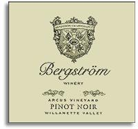 2005 Bergstrom Wines Pinot Noir Arcus Vineyard Willamette Valley