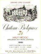 2015 Chateau Belgrave Haut Medoc