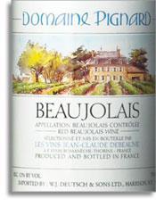 2011 Roland Pignard Beaujolais Villages