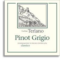 2012 Cantina Terlano Pinot Grigio Alto Adige