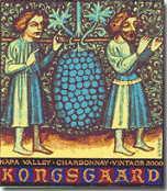 2008 Kongsgaard Wines Chardonnay Napa Valley