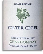 2008 Porter Creek Vineyards Chardonnay Old Vine Russian River Valley