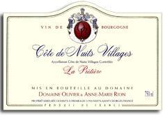 2008 Olivier Rion Cote De Nuits Villages La Pretiere