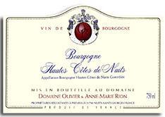 2008 Olivier Rion Bourgogne Hautes Cote De Nuits