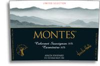 2011 Montes Cabernet Sauvignoncarmenere Limited Selection Apalta Vineyard Colchagua Valley