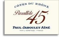 2011 Paul Jaboulet Aine Cotes Du Rhone Parallele 45 Blanc