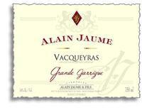 2011 Domaine Grand Veneur / Alain Jaume & Fils Vacqueyras Grande Garrigue