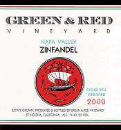 2010 Green & Red Vineyard Zinfandel Chiles Mill Vineyard Napa Valley