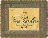 2010 Fess Parker Winery Syrah Santa Barbara County