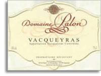 2012 Domaine Palon Vacqueyras