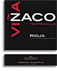 2011 Bodegas Bilbainas Vina Zaco Rioja