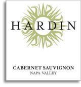 2007 Hardin Cabernet Sauvignon Napa Valley