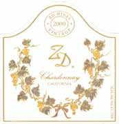 2006 Zd Winery Chardonnay California