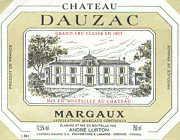 2011 Chateau Dauzac Margaux
